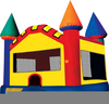 Clipart Pictures Of Bouncy Castles image