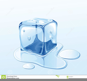 Clipart Of Frozen Icecube Image