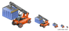 Container Terminal Product Icon Image