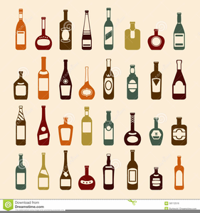 Clipart Images Of Wine Bottles Image