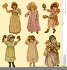Paper Doll Cutouts Clipart Image