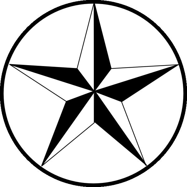 texas star clip art at clker - vector clip art online, royalty