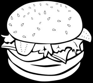 Hamburger Clip Art At Clker Com Vector Clip Art Online