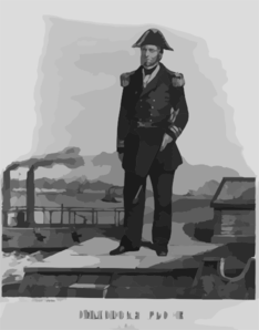 Commodore Andrew Hull Foote Clip Art