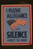 I Pledge Allegiance And Silence About The War Clip Art