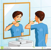 Bathroom Mirror Clipart Image