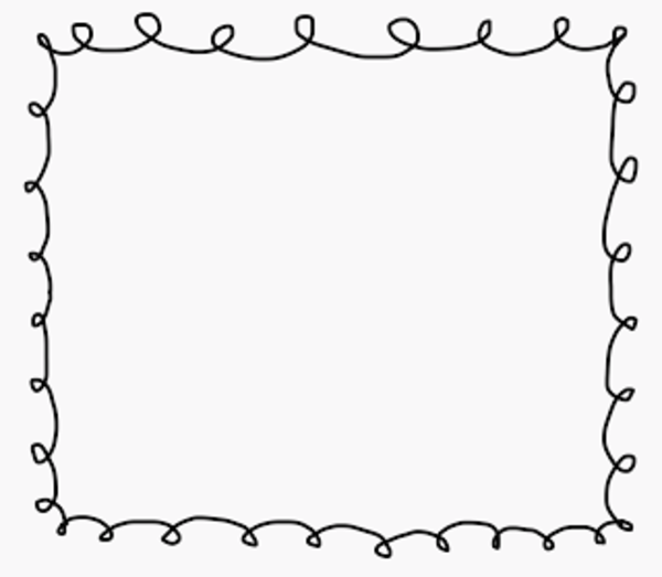 scribble border with whiteback free images at vector clip art online royalty free. Black Bedroom Furniture Sets. Home Design Ideas
