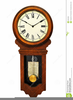 Clock Wall Clipart Image