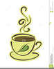 Cartoon Tea Cup Clipart Image