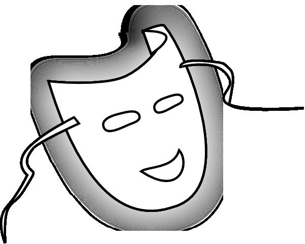 Mask Outline Clip Art at Clker.com - vector clip art ...
