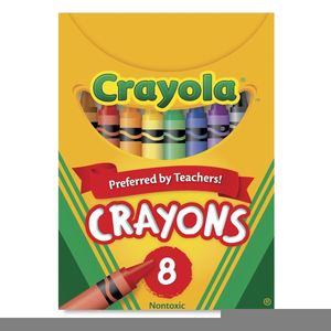 Pack Of Crayons Clipart Image
