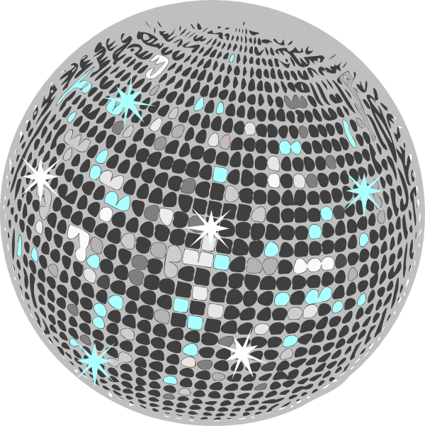 Disco Ball Clip Art at Clker.com - vector clip art online ... Soccer Ball Vector Png