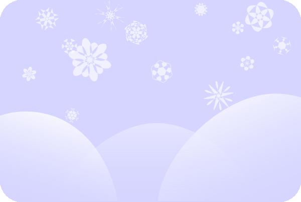 Faded Snow Scene Clip Art At Clker Com Vector Clip Art