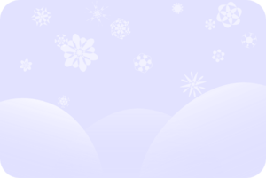 Faded Snow Scene Clip Art