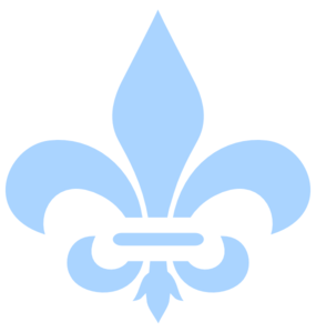 Baby Blue Fleur De Lis Clip Art at Clker.com - vector clip art online,  royalty free & public domain