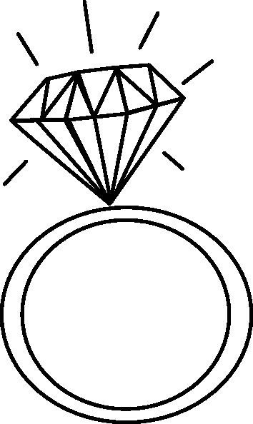 Diamond Ringashraf Clip Art at Clker vector clip