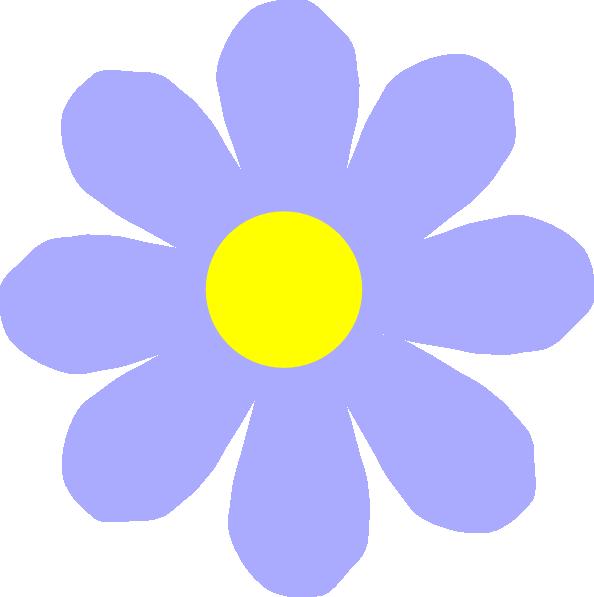 Black Flower Clip Art At Clker Com: Blue Flower Clip Art At Clker.com