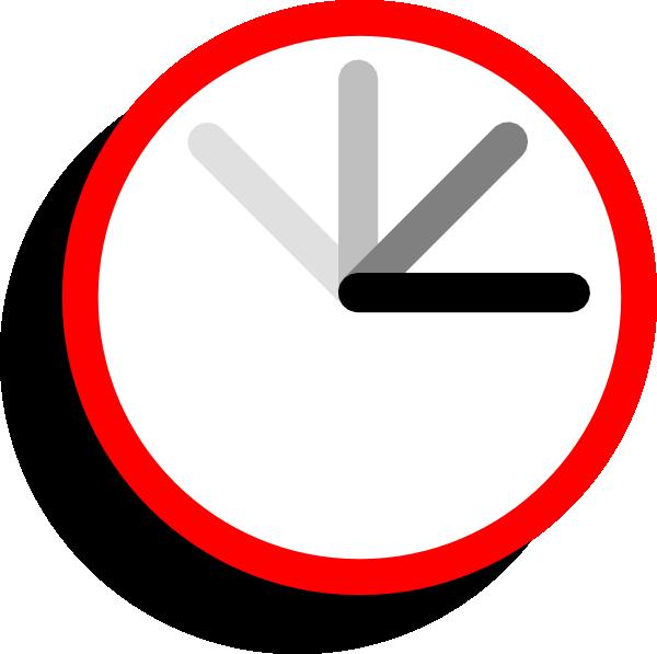 Ticking Clock Frame 1 Clip Art at Clker.com - vector clip ...