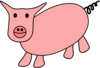 Pig Cartoon Clip Art