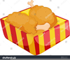 Fried Chicken Wings Clipart Image