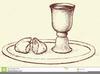 Free Clipart Of Bread And Wine Image