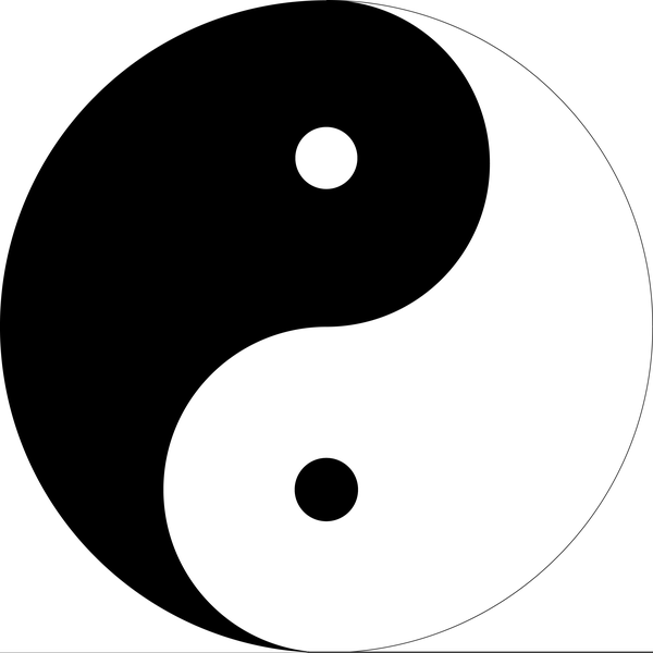 Free Clipart Yin Yang Free Images At Clker Vector Clip Art