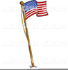 Clipart Us Flag Waving Image