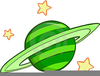 Cartoon Planets Clipart Image