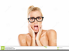 Woman In Shock Clipart Image