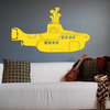 The Beatles Yellow Submarine Wall Decal Image
