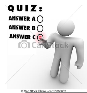 Multiple Choice Clipart Image