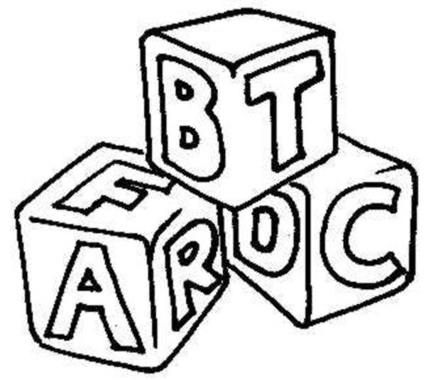 Black And White Abc Blocks : Alphabet blocks jpg free images at clker vector