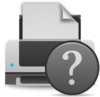 Printer Question Clip Art