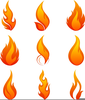 Free Flaming Clipart Image