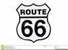 Highway Road Signs Clipart Image