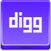 Free Violet Button Digg Image