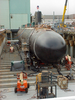 The Navy S Newest And Most Advanced Submarine, Pre-commissioning Unit (pcu) Virginia (ssn 774) Moved Out Doors For The First Time In Preparation For Her Aug. 16 Christening 2 Image