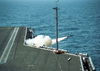 A Nato  Sea Sparrow  Missile Launches From Aboard Uss George Washington (cvn 73) Image