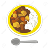 Rice And Beans Clipart Image