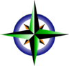 Compass Refreshing Green 2 Clip Art