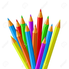 Crayon Clipart Black And White Image
