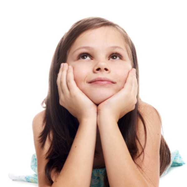 Little girl dreaming free images at vector clip art online royalty free public - Pics of small little girls ...