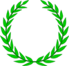 Education Symbol Olive Wreath Image
