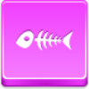 Free Pink Button Fish Skeleton Image