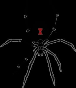 black widow spider clip art at clker com vector clip art spider web vector download spider web vector download