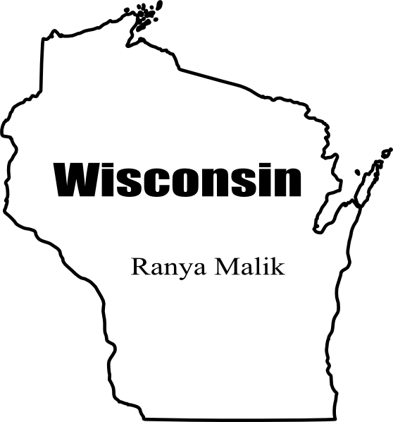 Image Result For Wisconsin State Map