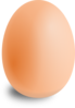 Brown Egg Clip Art
