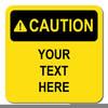 Caution Sign Clipart Image