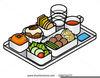 Free Cafeteria Tray Clipart Image