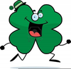 Free Clipart Of Four Leaf Clovers Image